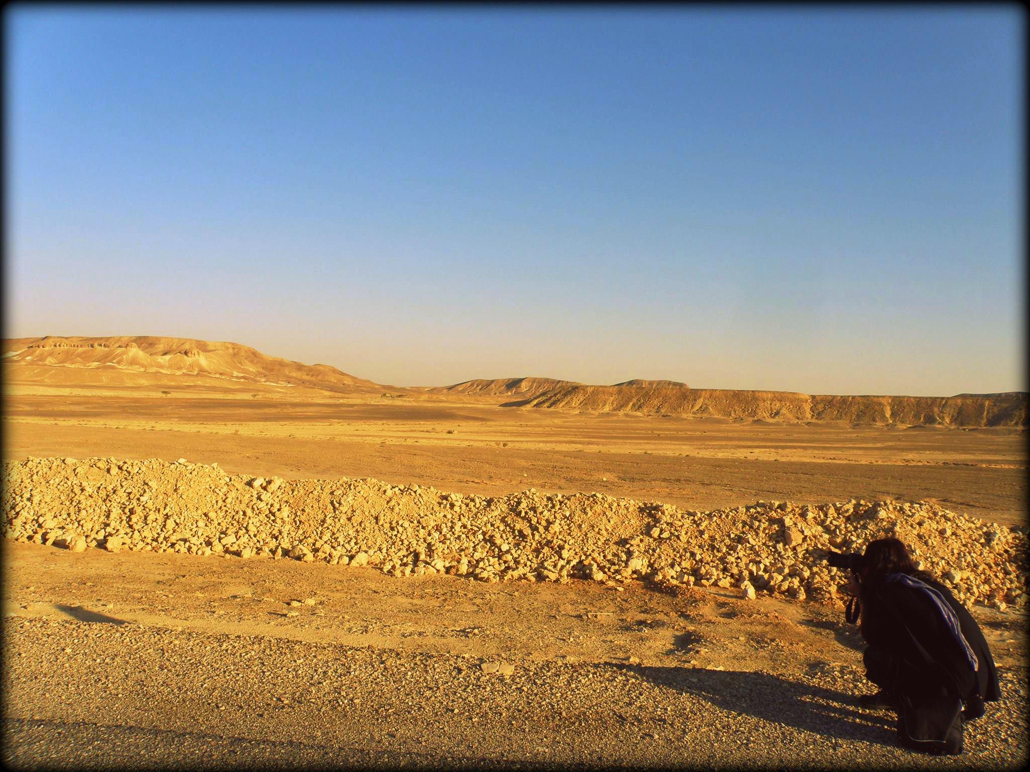 Ημερολόγιο Κλαίρης: Naqab μακροπόρο οδοιπορικό στο Ισραήλ