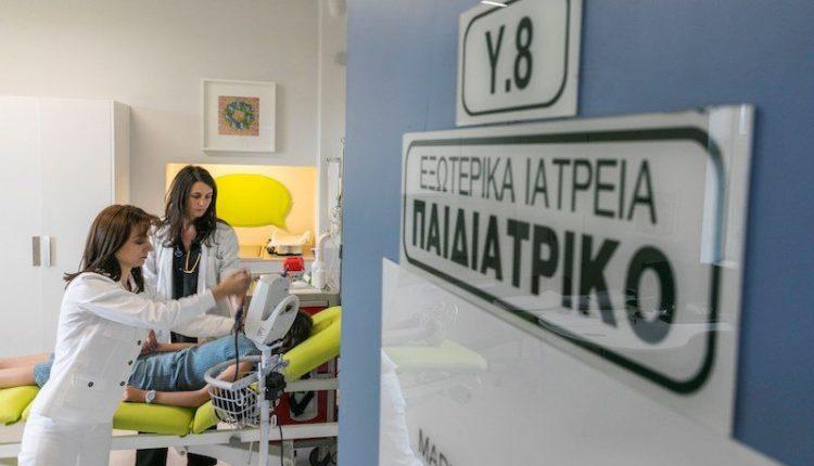 Νέο Τμήμα Επειγόντων Περιστατικών Παίδων στο Καρπενήσι από τον ΟΤΕ